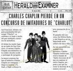 """CHARLES CHAPLIN PIERDE EN UN CONCURSO DE IMITADORES DE """"CHARLOT"""""""