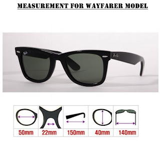 Ray Ban Wayfarer Sizes