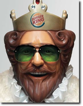 FEEL THE FIRE WITHIN  quot Burger King Guy Thumbs Up