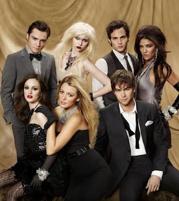 Фотосесия состава третьего сезона Сплетницы