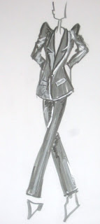 fashion illustrations @seattlecitystlye.blogspot.com