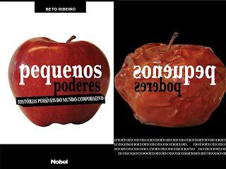Capa Livro Beto Ribeiro Poder S/A que conta os bastidores do mundo corporativo