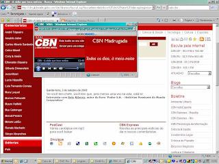 Entrevista Radio CBN de Beto Ribeiro