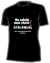 Camiseta EU ODEIO MEU CHEFE!