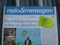Beto Ribeiro e o livro Poder S.A. no Meio e Mensagem