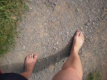 Girls Going Barefoot Everywhere