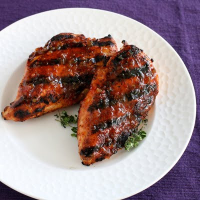 grilled chicken breasts with orange chipotle glaze 4 chicken breasts