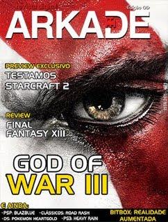Revista Arkade God Of War III
