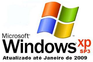 Microsoft Windows XP Professional SP3 Atualizado Até Janeiro 2009 + Tradutor Portugês