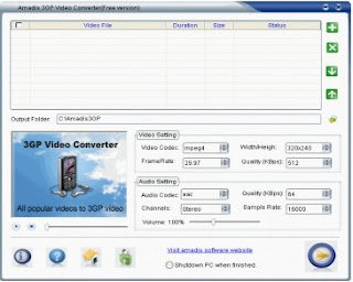 Kingdia 3GP Video Converter