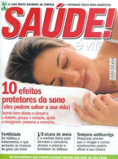 Revista Saúde é Vital - 10 Efeitos Protetores do Sono