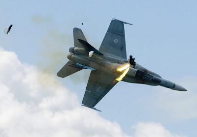 CF18 accident