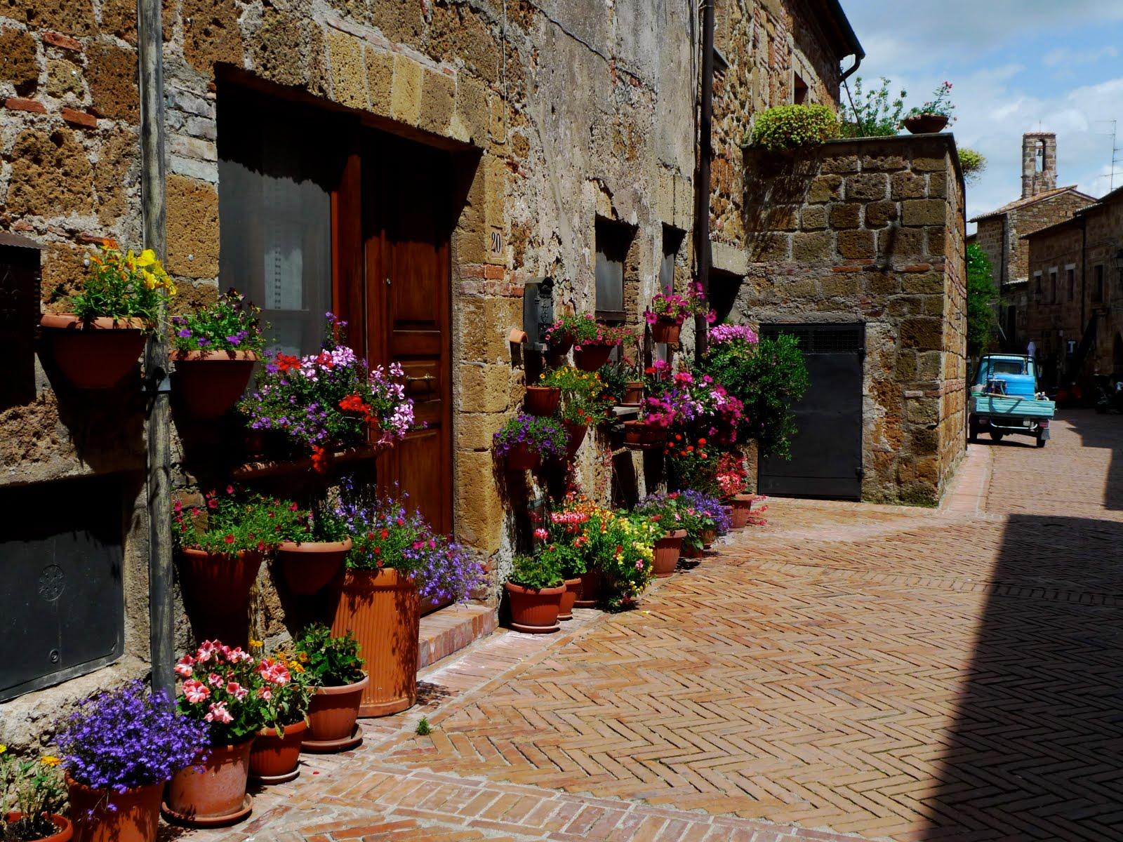 tuscany village wallpaper anghiari - photo #14