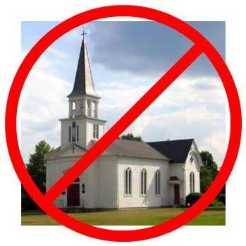 sem%2Bigreja Sem igreja, graças a Deus!