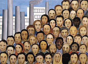 Operários, de Tarsila do Amaral: um retrato da miscigenação brasileira