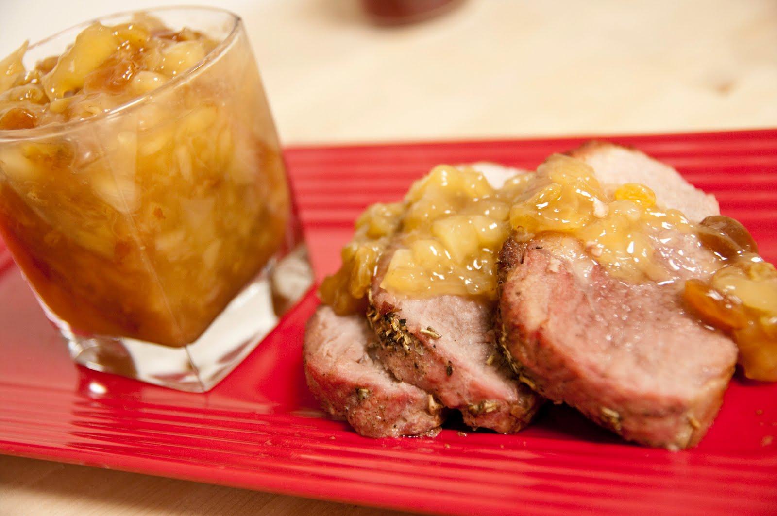 recipe: pineapple sauce for pork tenderloin [14]