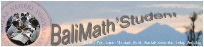 BaliMath'Student (Philosophy)