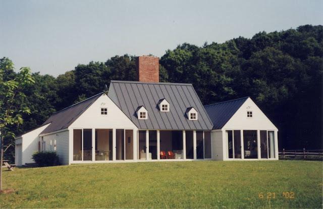 C a farrell hugh newell jacobsen for Dream roof