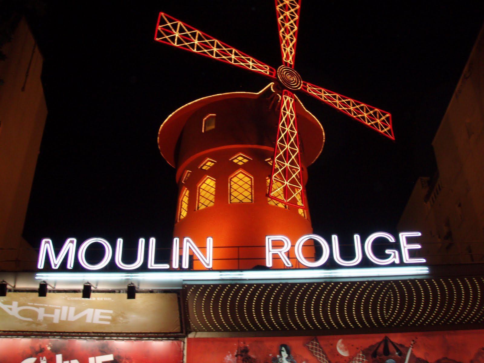 "The moulin rouge which translated means the ""red mill"" is located"