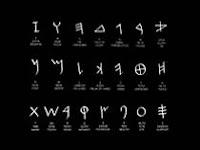 Huruf paku adalah huruf bangsa sumeria yang sudah mengenal tulisan