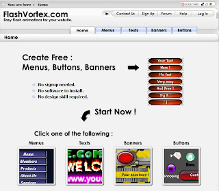 FlashVortex Crea tus animaciones flash facil!