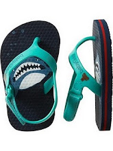 BABY GAP SHARK SANDAL