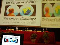 venice conference energy veronesi 2007