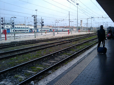 binario vivo, roma aprile 2010 Andrea Mameli