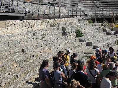anfiteatro romano di cagliari 12 settembre 2010