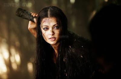 Aishwarya in Raavan movie stills