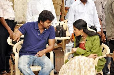 Vijay's Kaavalkaran shooting spot stills