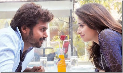 Karthi and Tamanna hot Siruthai stills