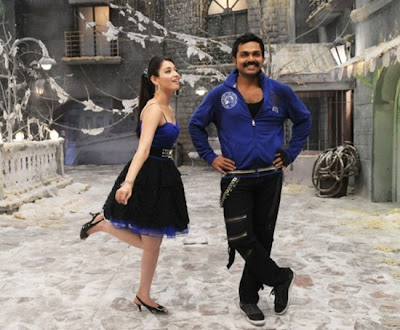 Karthi and Tammanna hot stills