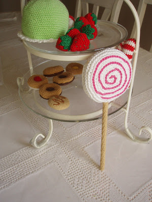 crochet lollipop
