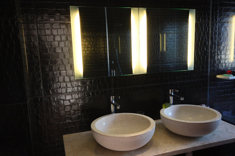 Leather Bathroom