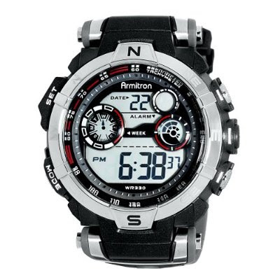 watches cheap armitron 408231rdgy digital sport