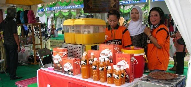 Gebyar UKM 2010 promoted by TELKOM Tbk Medan