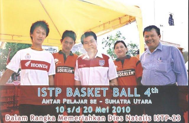 Pertandingan Bola Basket Pelajar SMA Sumut 2010