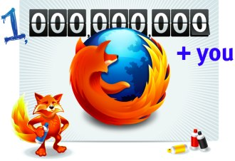 Mozilla Firefox crosses the one billion-download mark