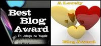 My First Blog Award!  : )
