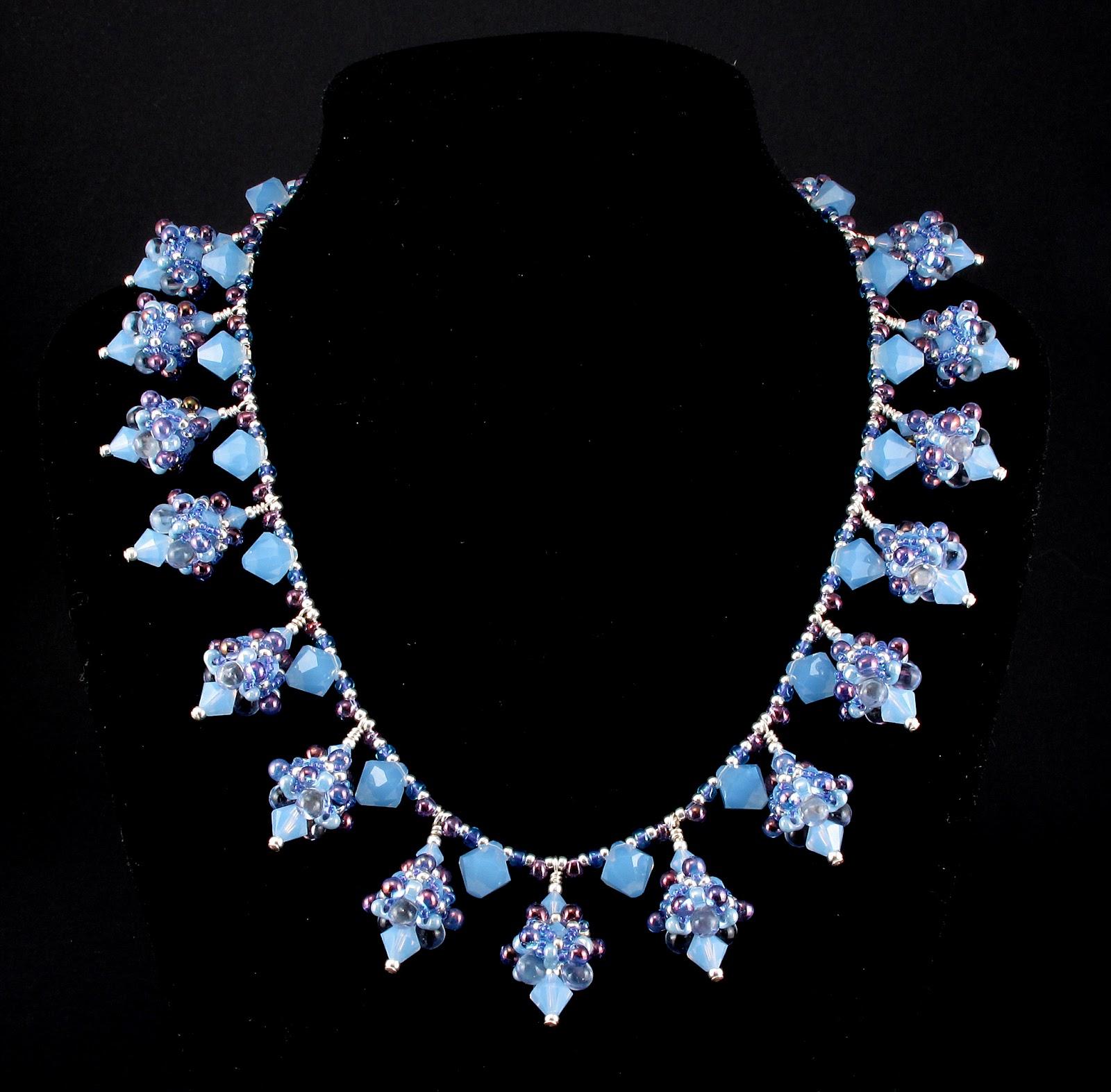 Bead Origami Ice Queen Necklace