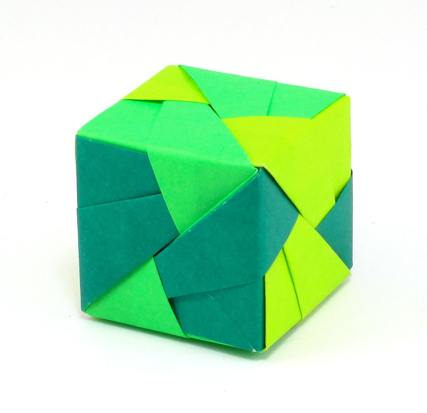 bead origami origami interlude sonobe unit origami