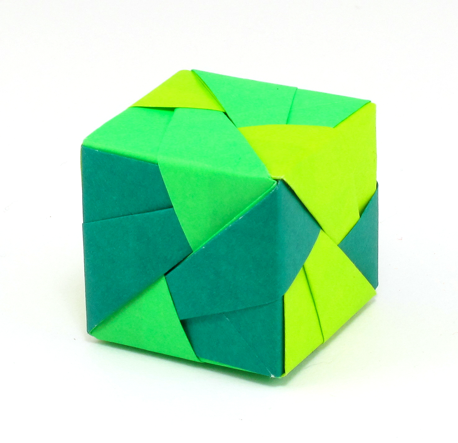 Bead Origami Interlude Sonobe Unit