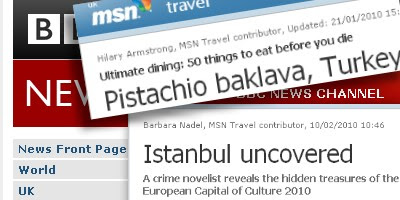 Tasty Turkish Things in the UK press