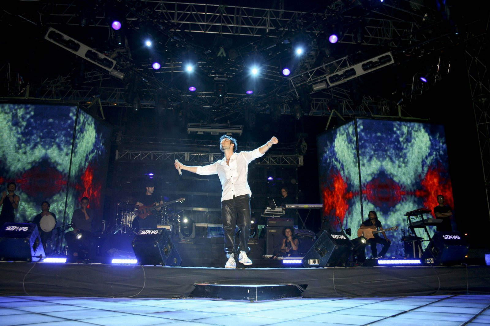 Tarkan in Ankara for Doritos concert © Dilek Telcioğlu