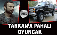 Tarkan's expensive toy is good for the environment
