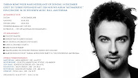 Tarkan Heineken Hall show informartion
