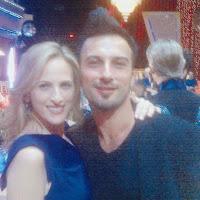 Tarkan with Oscar winner Marlee Matlin