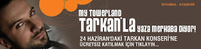Tarkan concert for My Towerland residents