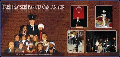 Waxorks Exhibition at the Kayseri Park Mall in Ankara, Turkey